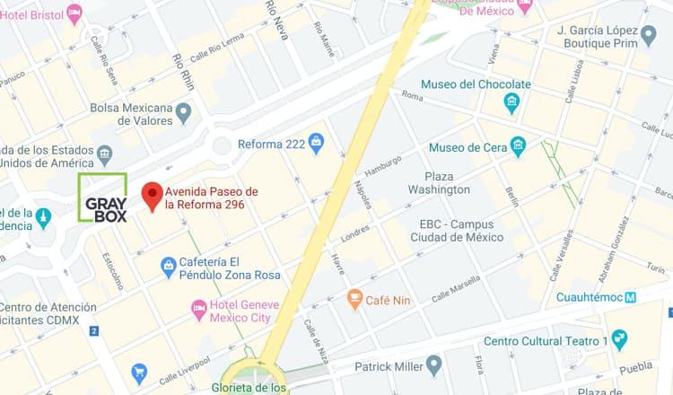GRAYBOX Location in Ciudad Juarez